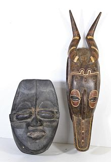 Two African Tribal Wood Carvings
