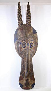 Ivory Coast Large Carved Wood Mask