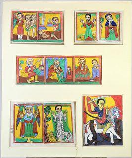 Ethiopian Religious-Motif Panels