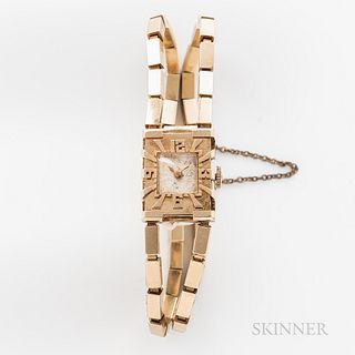 14kt Gold Orloff & Co. Cocktail Wristwatch