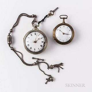 Two London Pair-case Watches