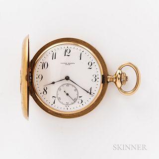 Ulysse Nardin 18kt Gold Hunter-case Watch