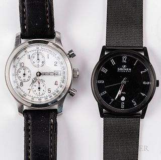 Hamilton Reference 3828 Automatic Chronograph Wristwatch