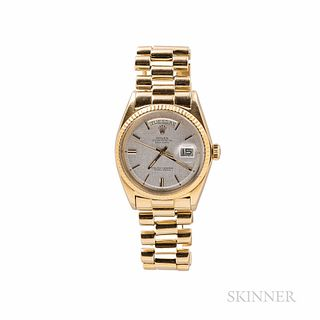 Rolex 18kt Gold Reference 1803 Day-Date Wristwatch