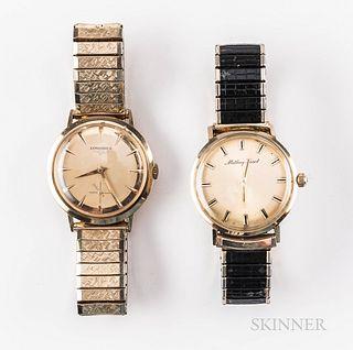 Longines and Mathey Tissot Wristwatches