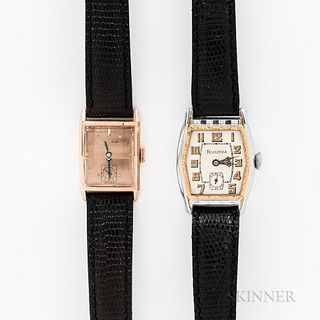 Two Bulova Wristwatches
