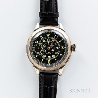 Omega Aviator or Pilot's Wristwatch