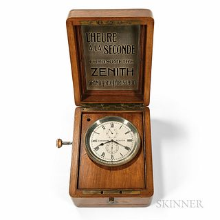 Zenith Boxed Marine Chronometer