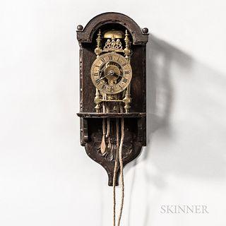 Miniature English Lantern Clock