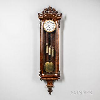 Grand Sonnerie Vienna Regulator Wall Clock