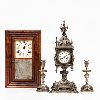 Two Shelf Clocks