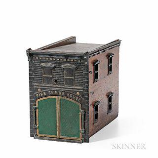 Ives Clockwork Fire House