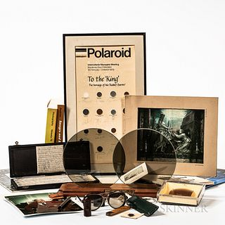 Collection of Items from a Polaroid Research Office