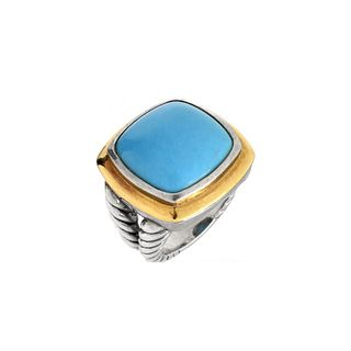 David Yurman Turquoise Ring