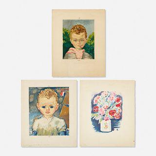Kees van Dongen, collection of three works