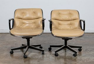 "PR., CHARLES POLLOCK FOR KNOLL ""EXECUTIVE"" CHAIRS"