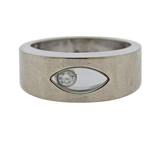 Chopard Happy Diamond 18K Gold Band Ring