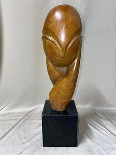 Romanian Bronze Sculpture Constantine Brancusi
