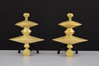 Diego Giacometti (After) Andirons