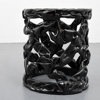 """""""Taffy"""" End/Side Table Attributed to Tony Duquette"""