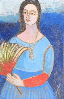 Nahum Tschacbasov Portrait Painting