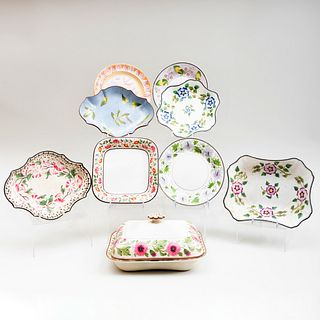 Group of English Creamware and Pearlware Table Articles