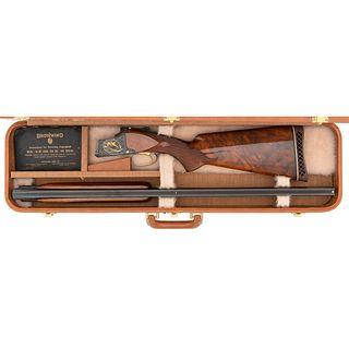* Cased Browning Midas Grade O/U Shotgun