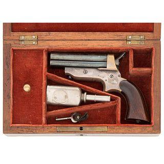 Rosewood Cased Model 2A Sharps Derringer