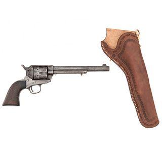 "7.5"" Civilian Colt Single Action Army Revolver"