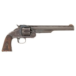 Smith & Wesson No 3 Second Model American Cut For Shoulder Stock