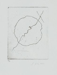 Lucio Fontana (Rosario 1899-Varese 1968)  - Concetto spaziale, 1956