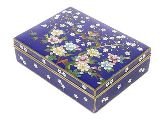 Antique Cloisonne Japanese Box