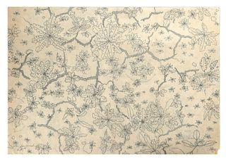 CARROLL CLOAR, Textile Design Drawing