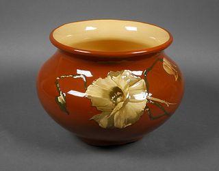 WELLER Art Pottery Dickens Ware Jardiniere Planter