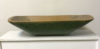 Apple Green Maple Trencher - 19th century