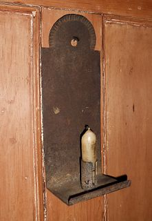 Early Tin Sconce