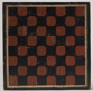 Lot 6 Painted Game Boards