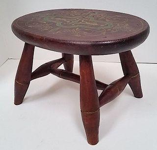 Fine Early Windsor Footstool c 1825