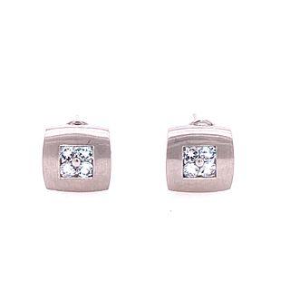 14k Gold Diamonds Contemporary Earrings