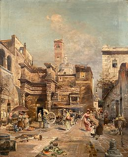 Robert Alott, A Roman Street Scene