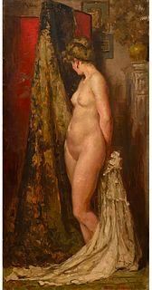 Emile Baes, The Artist's Model