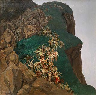 Alfred Basel, The Rape of the Sabine Women