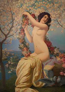 Valere Bernard, An Allegory of Spring