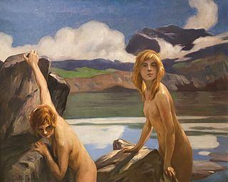 Paul Emile Chabas, Two Bathers