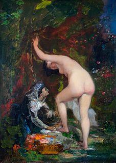 Jean-Baptiste Chatigny, The Bather