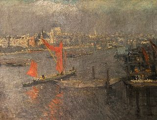 Jacobus Cornelis Wyand Cossaar, Sailing Through London