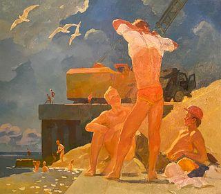 Boris Khomenko, Lunch Break, 1985