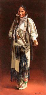 James Asher | Plains Indian Woman