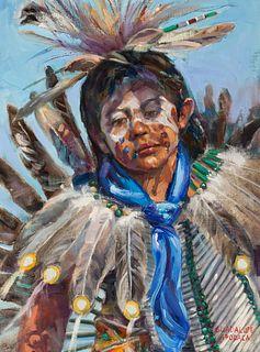 Guadalupe Apodaca | Indian Boy