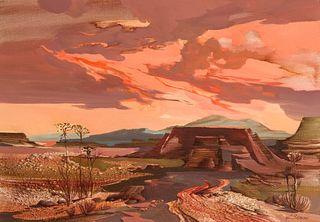 Laurence Philip Sisson | Nambe Sunset